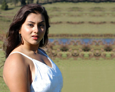 Namitha Babe Sizzles in Which Dress