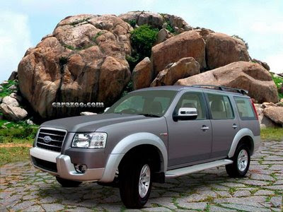 New Look of ford Endeavour Car Pictures