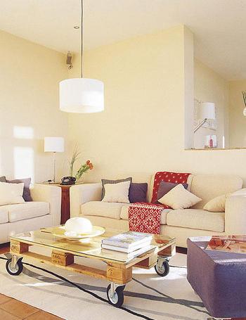 Cada ambiente con su luz for Lamparas techo salon