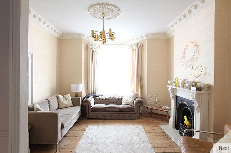 Magn fica casa victoriana decoraci n retro for Decoracion victoriana