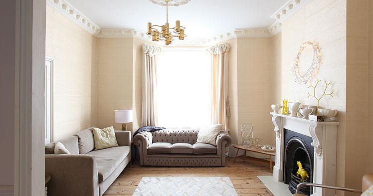 Magn fica casa victoriana decoraci n retro for Decoracion de casas victorianas