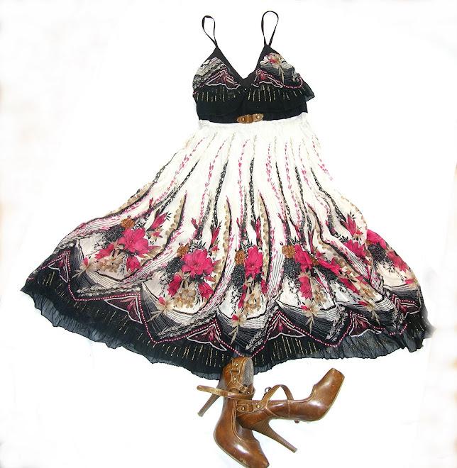 rochie de vara cu imprimeuri florale
