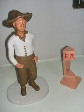 trabalhos em ceramica,minha primeira escultura