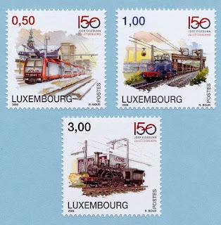 Luxembourg Railroads