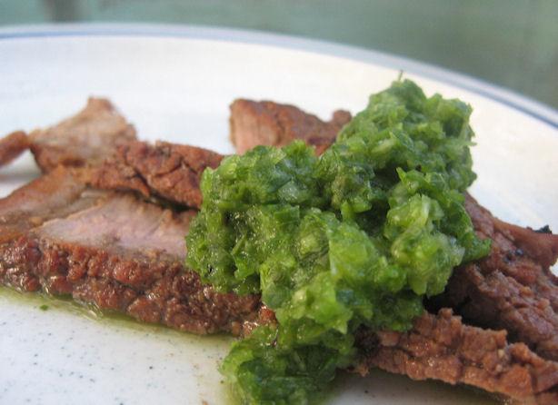Foodalution: Fresh Colombian Aji Sauce with Steak ...