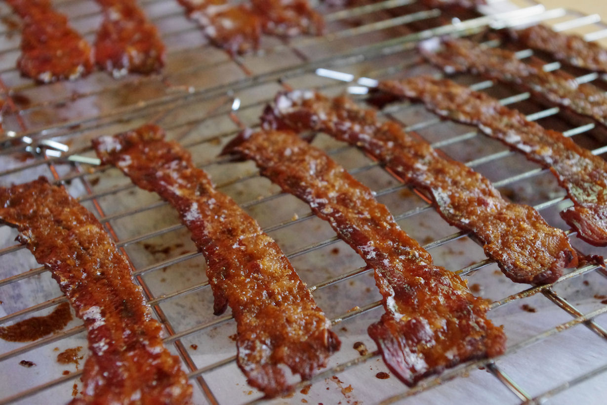 candied bacon and an announcement!
