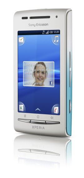 sony ericsson x8 white w pink and aqua covers. Sony Ericsson is soon going to