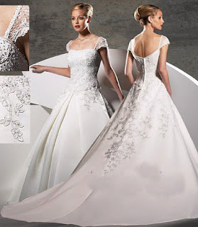 Custom Made, High End Wedding Dress<br />