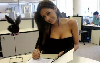 Larissa Riquelme firma con PlayBoy Brasil