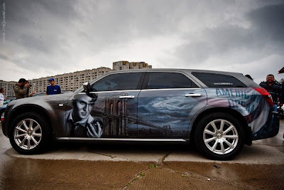 Amazing car art competition