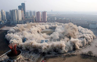 stadium demolish