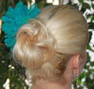Mackarrie beauty style blog schnelle sommer frisur - Schnelle bastelideen sommer ...