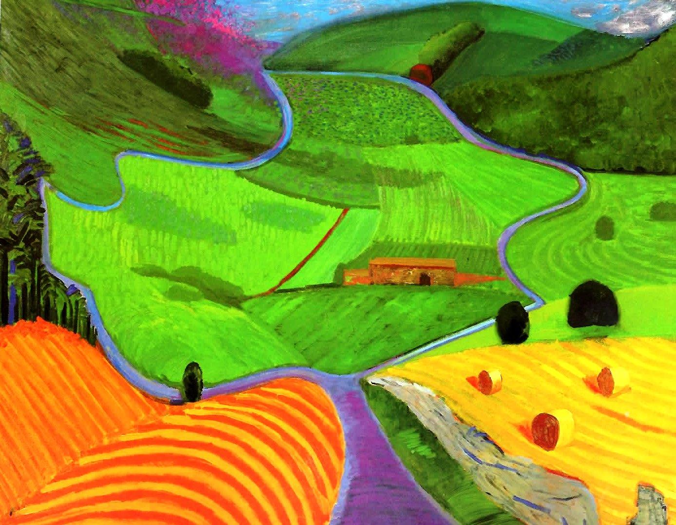 1000 images about david hockney on pinterest david for David hockney painting