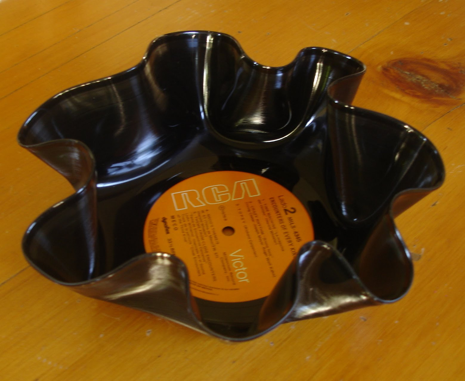 Recicla impresionante taringa - Plato discos vinilo ...