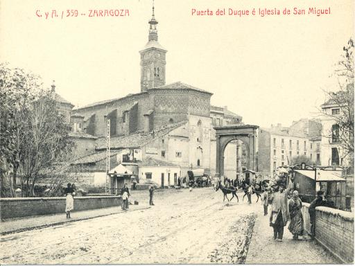 Zaragoza antigua for Puerta la victoria