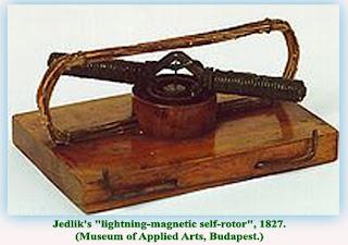 Sedikit Sejarah Tentang Motor-Motor Listrik - anyos jedlik eksperimen rotasi elektromagnetik