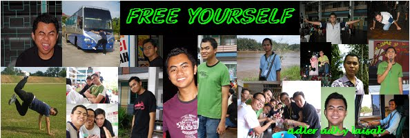 adler adhy laisak | FREE YOURSELF