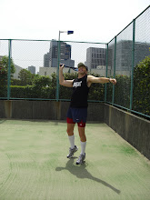Tennis in Shinagawa