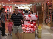 At the Hello Kitty Shop