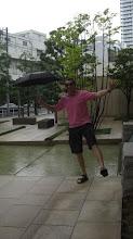 Wet day in Tokyo