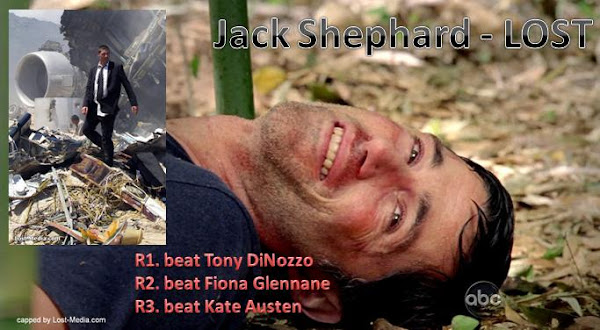 Character Cup Quarter Final Two - Jack Shephard (LOST) vs. Elena Gilbert (The Vampire Diaries)