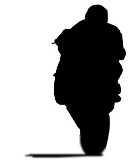 wheelie silhouette