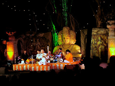 1024x768 image of Pt Chaurasia performing. All right reserved