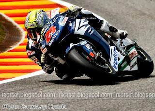 Tony Elias at Mugello | Courtesy Honda motorcycles