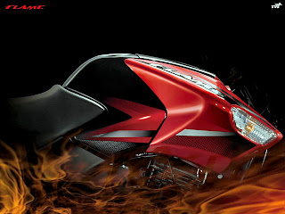 TVS Flame 125 image from tvsflame.com