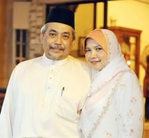 Dr Muhaya dan suami tercinta