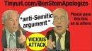 Ben Stein, Apologize to Ron Paul