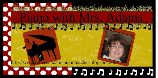 Piano with Mrs. Adams