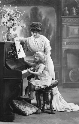 My love for piano started at age 5 with my grandmother as my teacher.