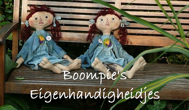Boompie&#39;s Eigenhandigheidjes