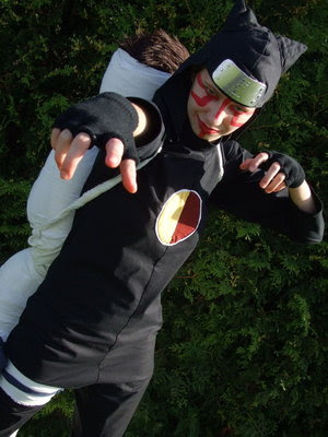 naruto cosplaying