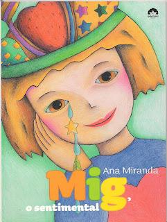 Livro infantil Mig, o sentimental