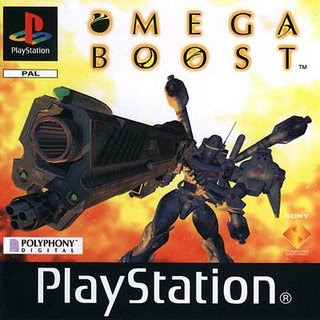 Omega Boost PAL front Super coletania (PSX PSP) Isos já convertidos