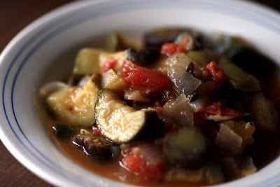 Mediterranean Simmered Summer Vegetables