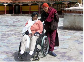 Journeys without Barriers (JwB), a wing of Travel Another India, is an initiative that provides the experience of barrier-free travel for an emerging global market- that of persons with disabilities and senior citizens.