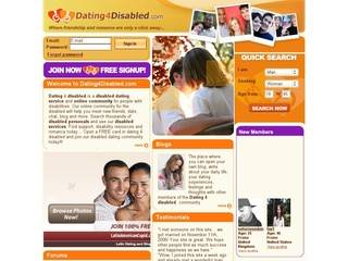 Dating website for disabled people