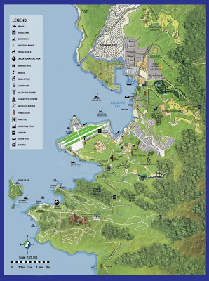 Map of Subic, Olongapo