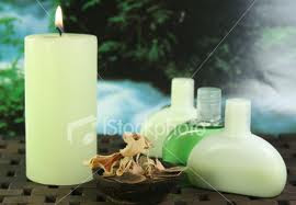 Aromatheraphy Scented Candles and Oil