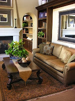Living Room in Dark Neutral - arizona interior decorators