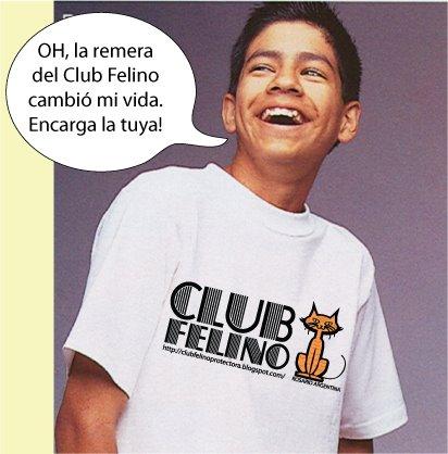 Remera Felina