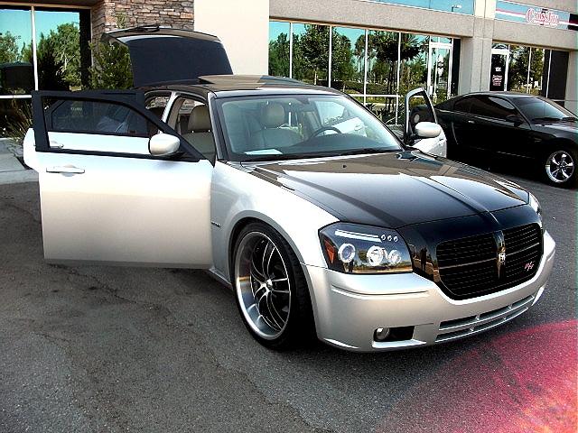 custom black silver dodge hemi magnum RT - Glorious Car ...