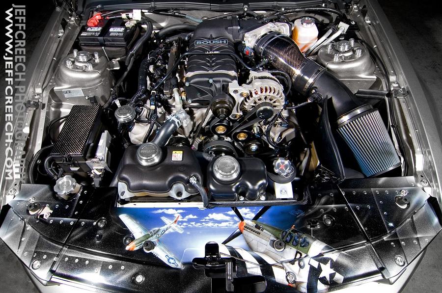 The P51 Mustangs Merlin Engine