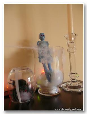 Spooky Halloween Specimen Jars