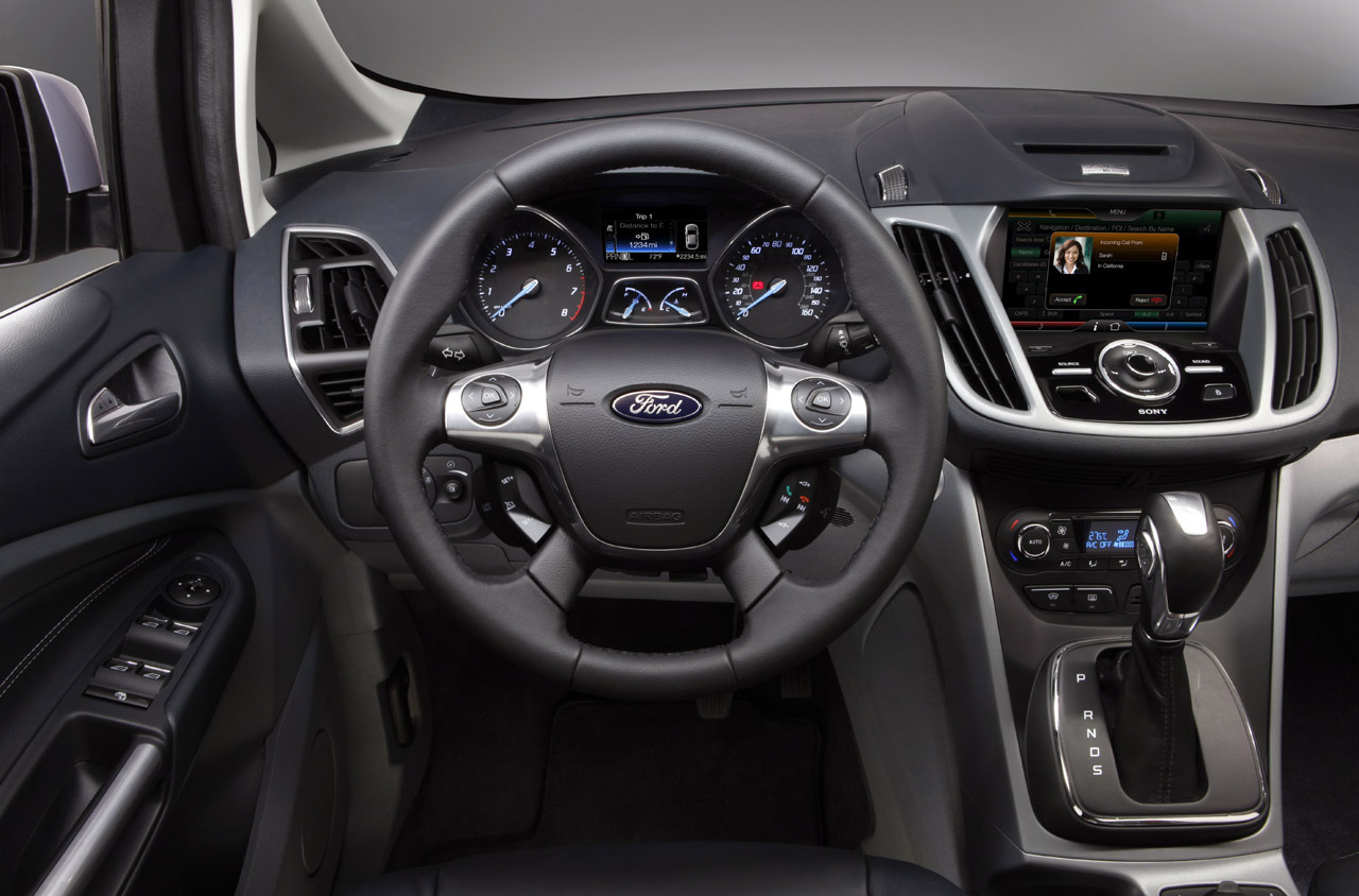 """Ford C Max Seat Configuration >> All cars Review: Officially Official: 2012 Ford C-Max Presents """"mini"""" To """"minivan"""""""