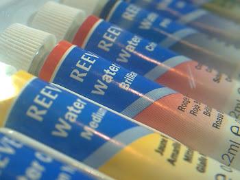 Acuarelas Reeves en pomos x 12 colores