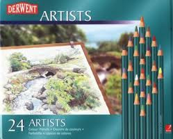 Lata de Lapices Derwent Artists x 24